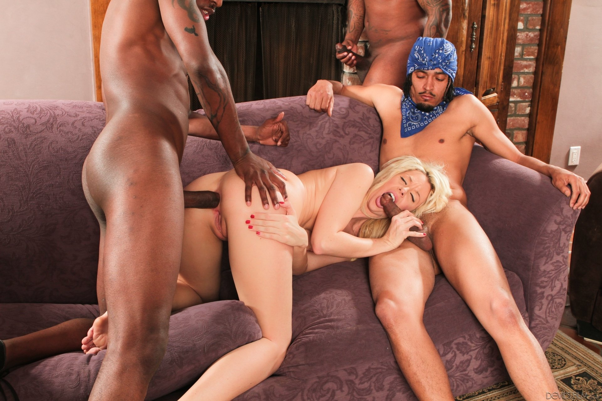 free ebony interracial porn