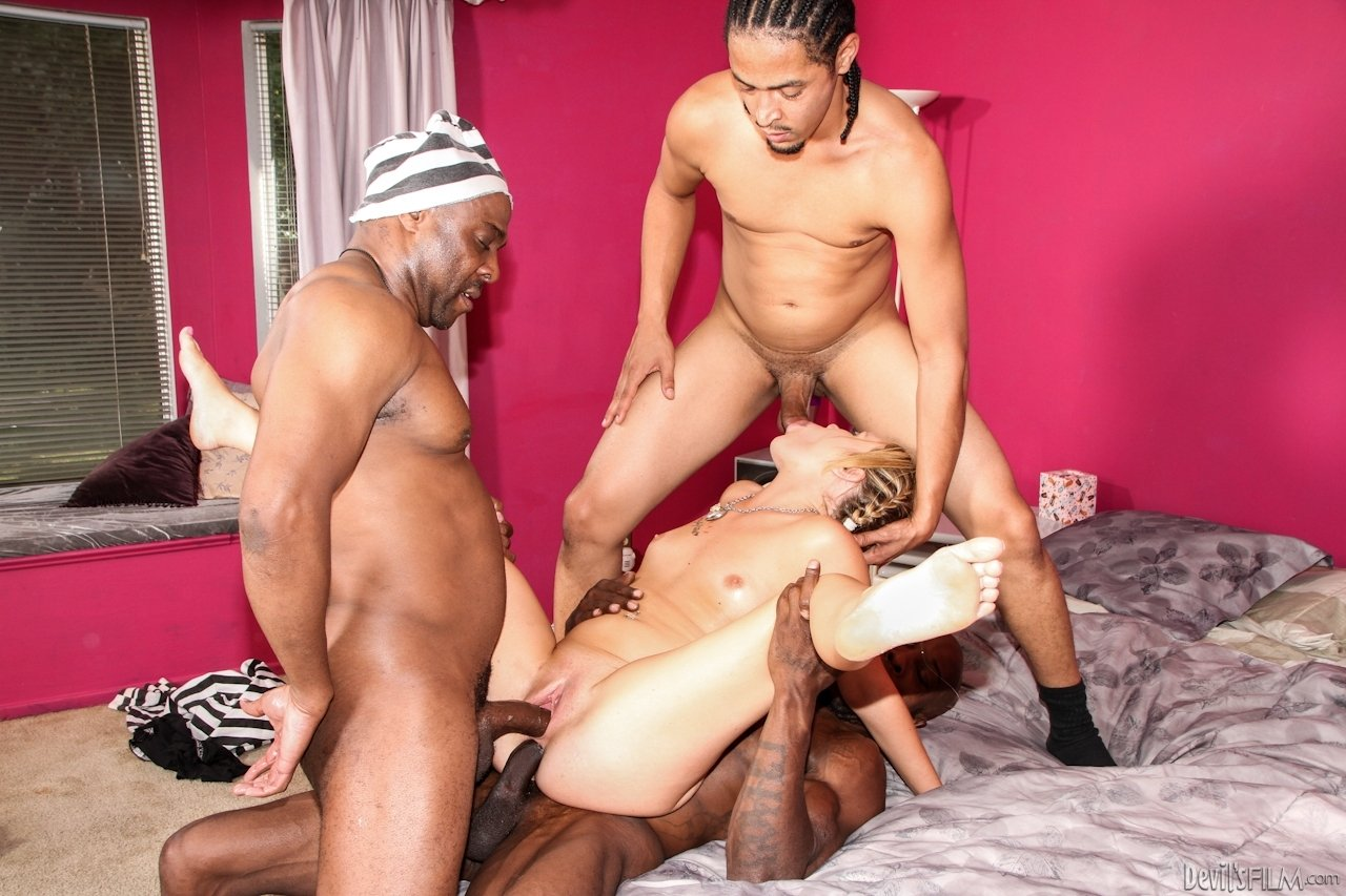 mature interracial sex party there
