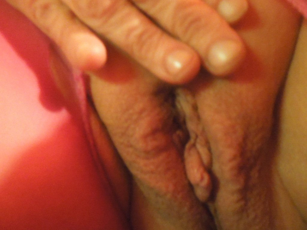 Wife fondles cock husband