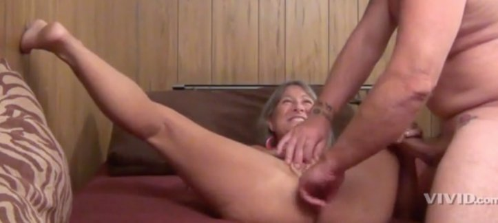 Horny spanked mature housewife gets