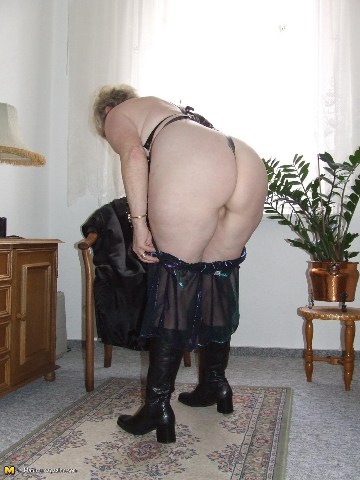 Sexy granny high heels Amateur webcam father and