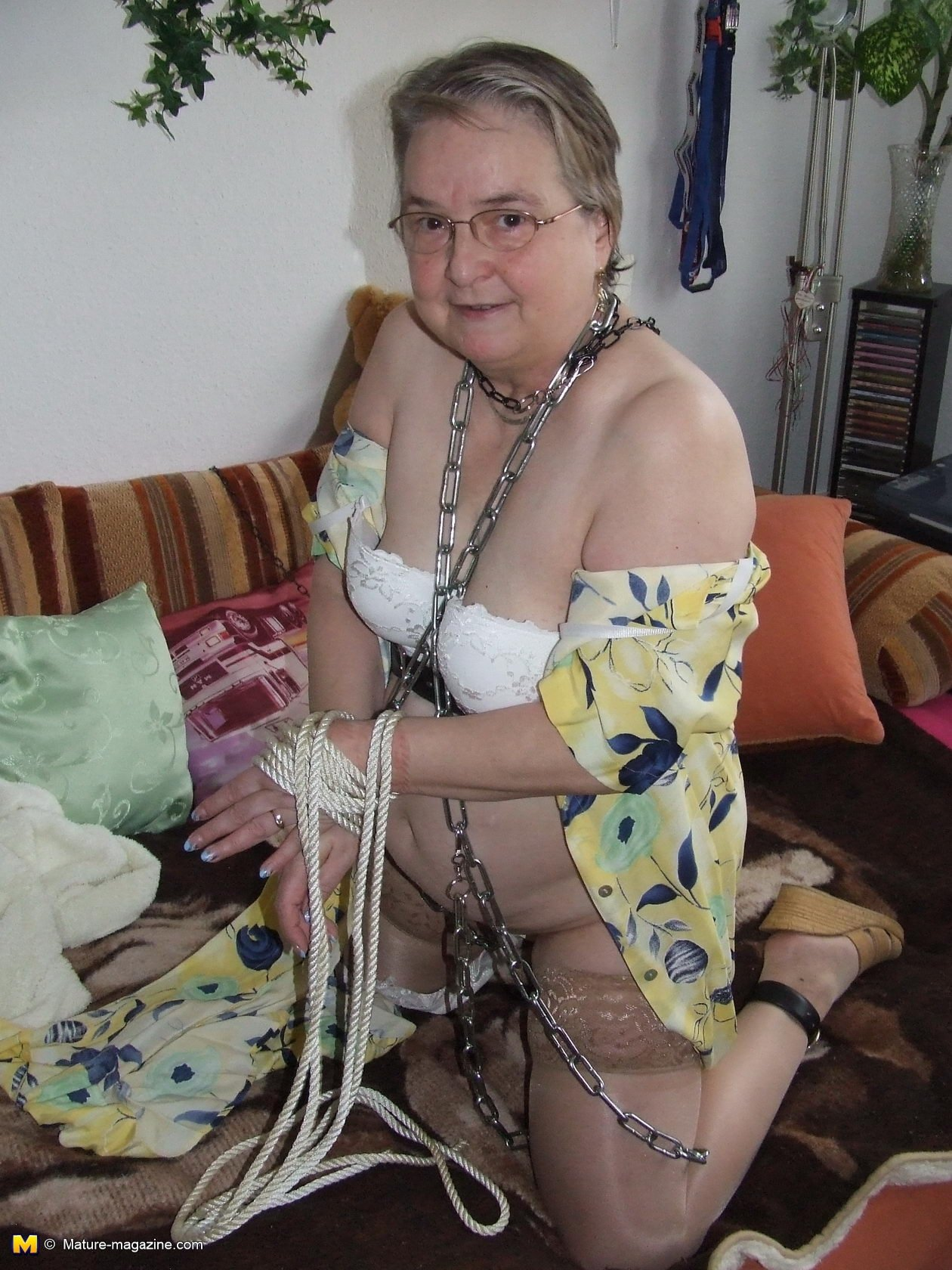 satin granny pics add photo