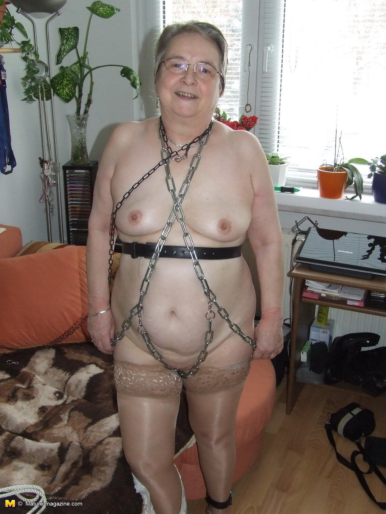 Granny animal porn #1