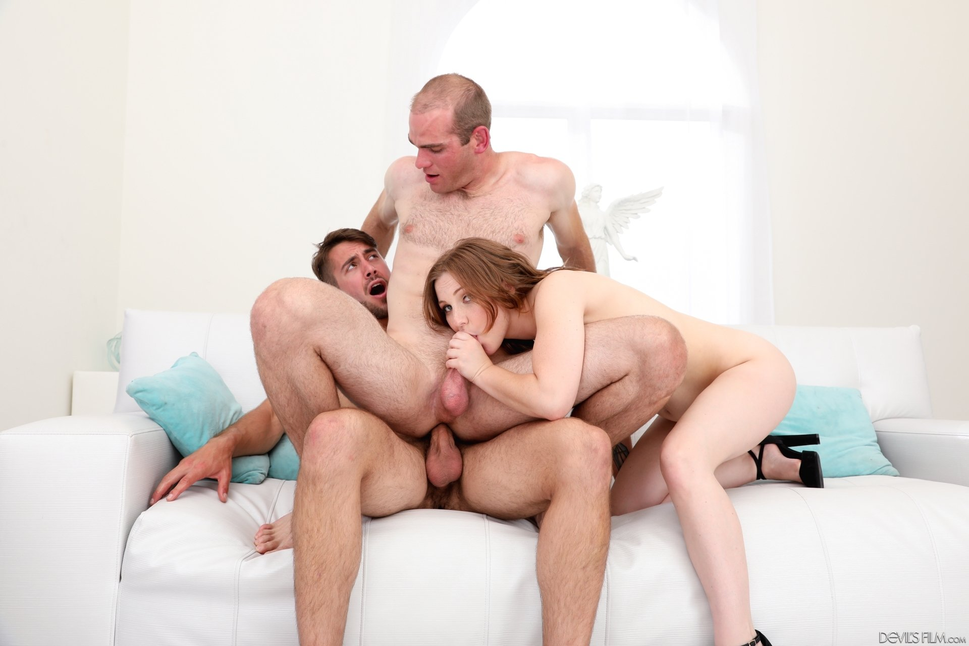 bisexual threesome with strapon authoritative answer