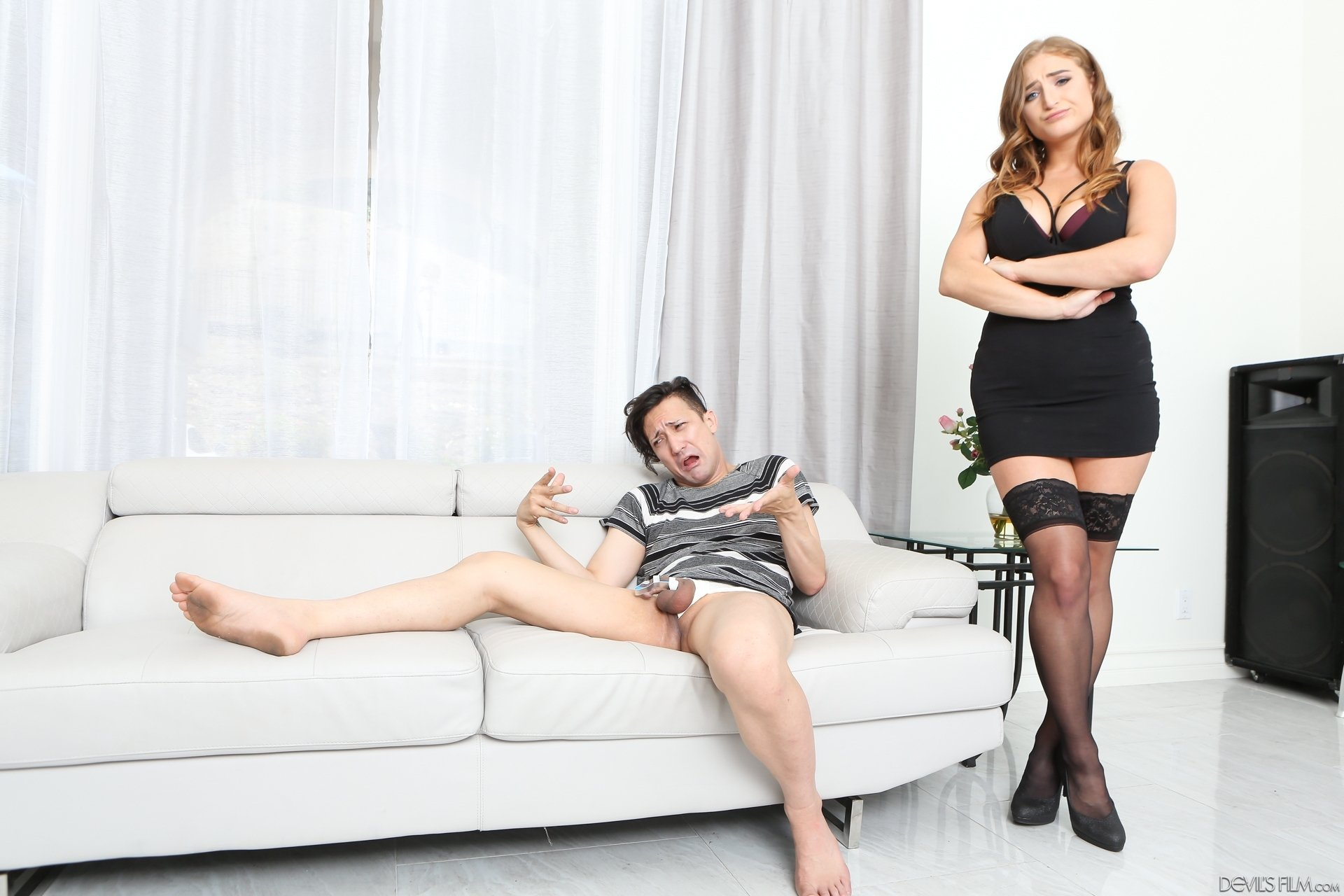 hairy british housewife mistress face slapping slave