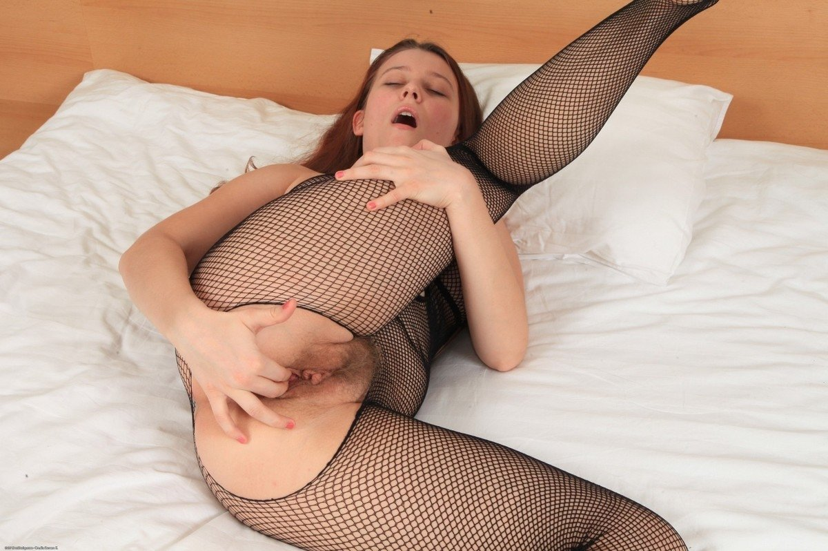 Sexy housewife in stockings