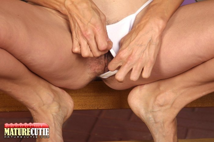 mature and young creampie there