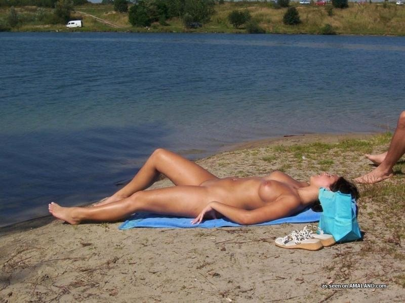 Young boy girl first nudist experiences