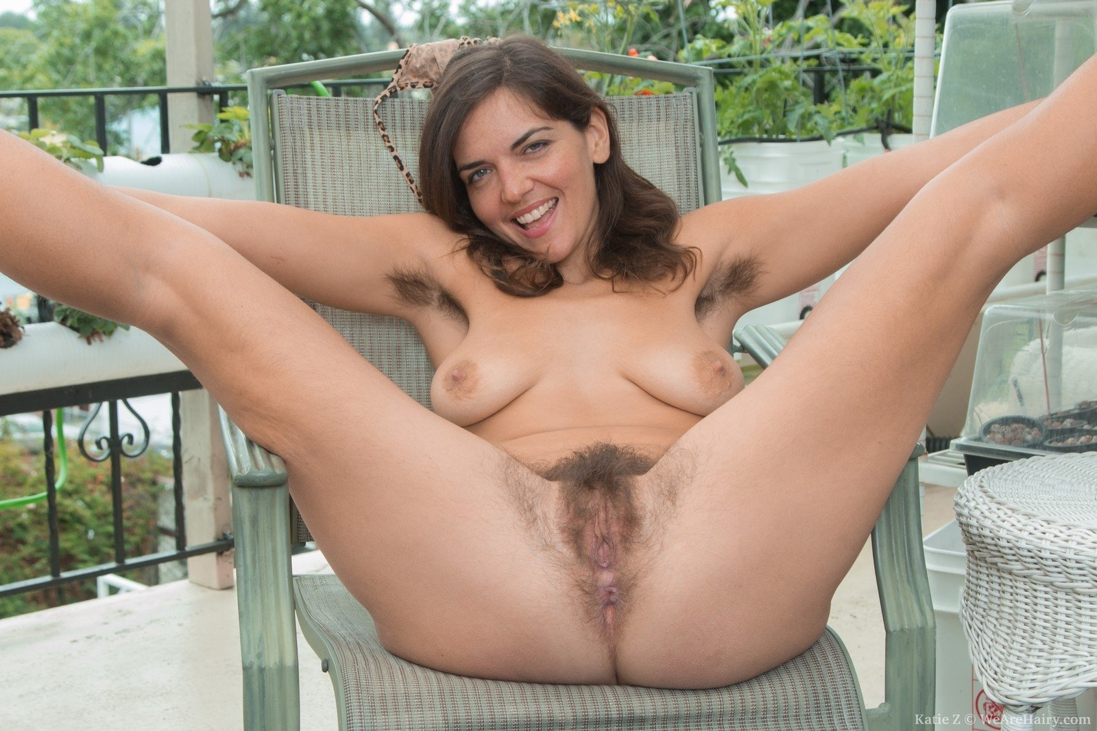 Mature hairy women