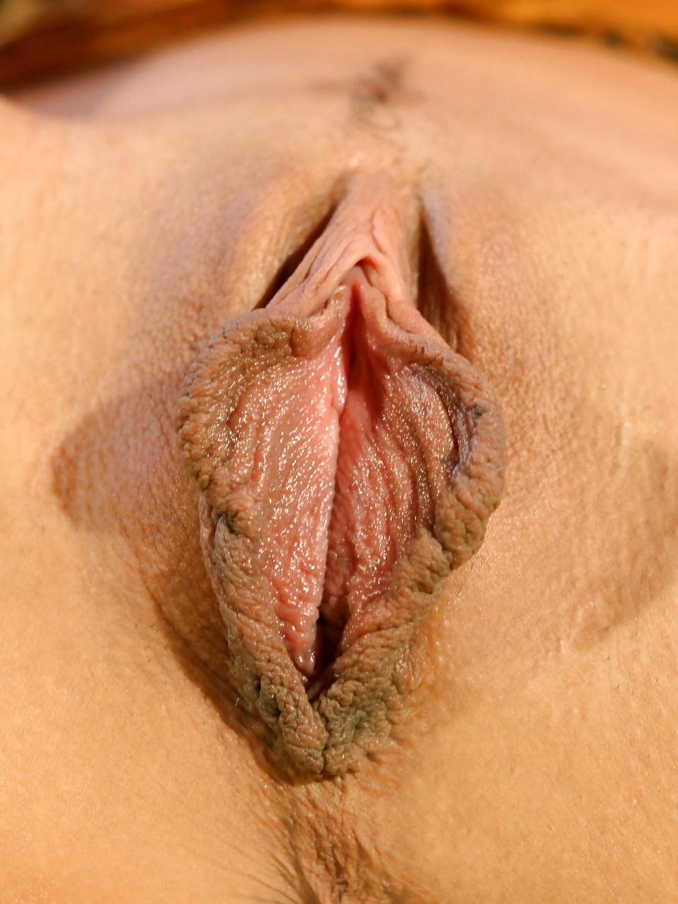 Long pussy lips licking