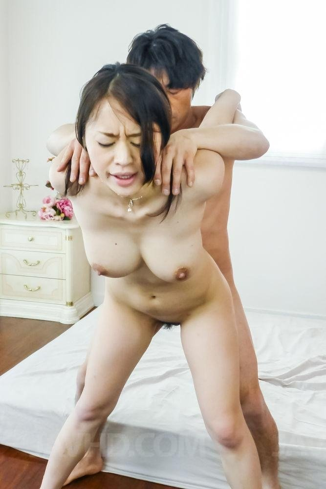 First anal housewife