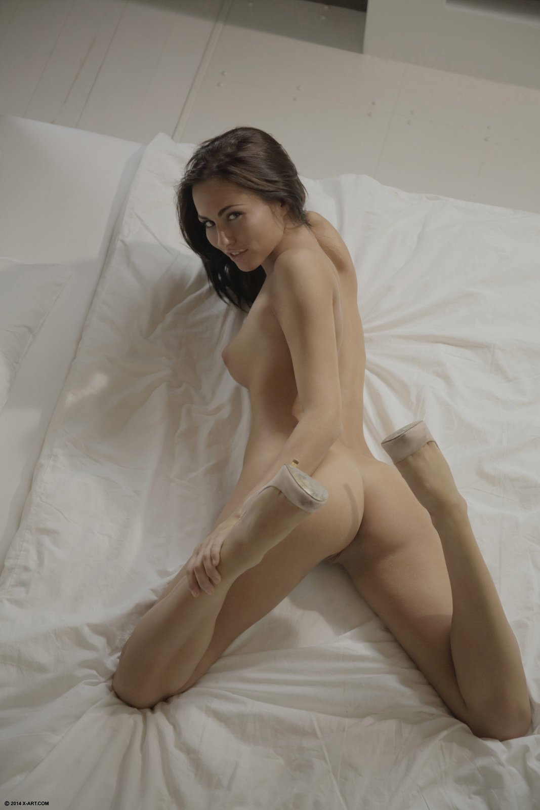 Mature undressing wife