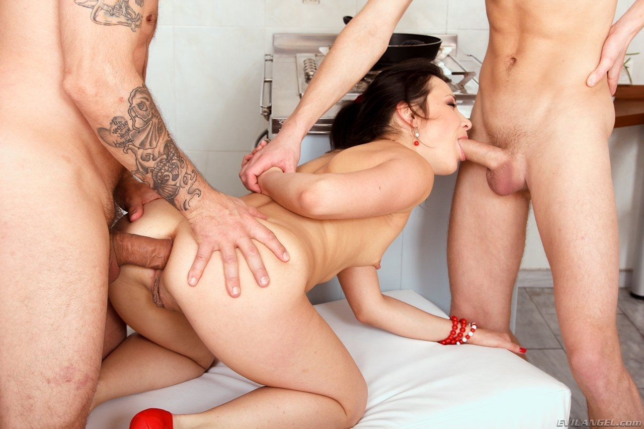Watching my wife fucking another cock male anal play
