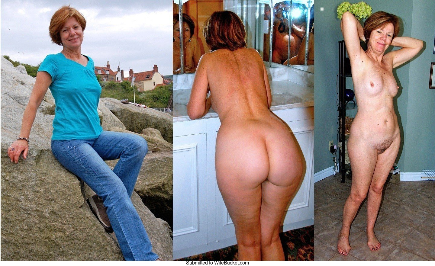 Moms with and without clothes pics 12