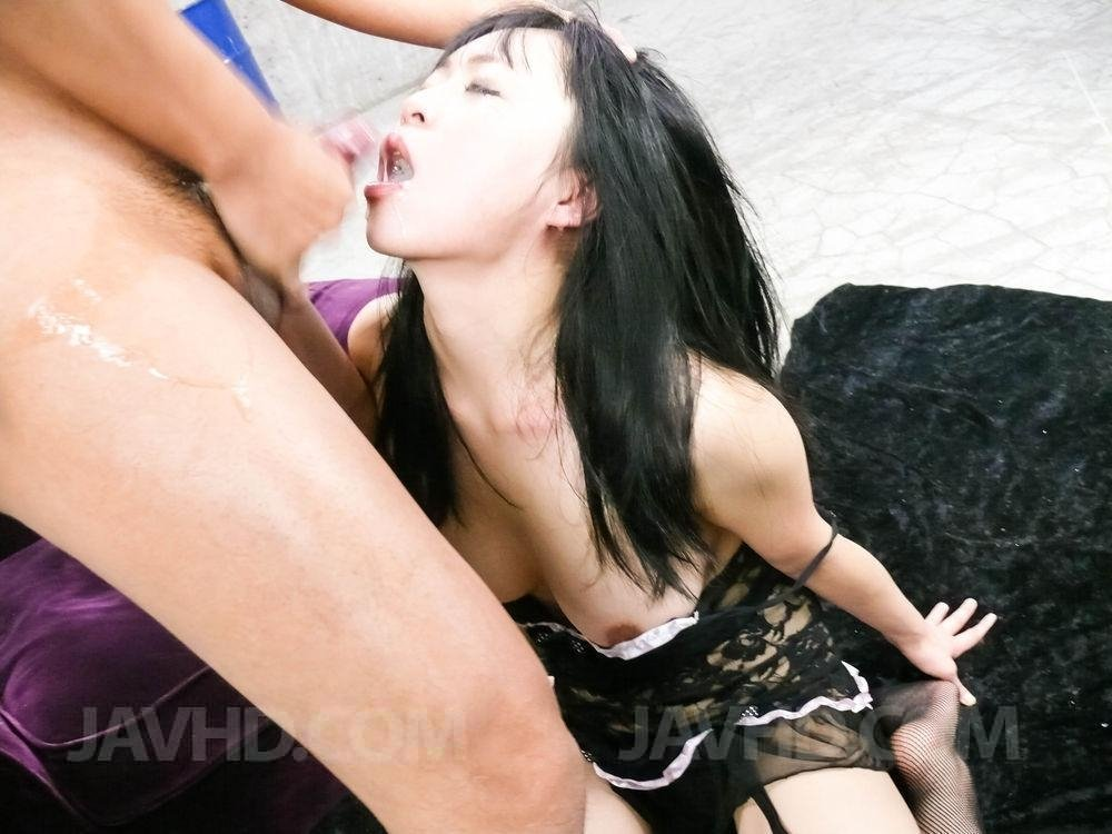 Tieing up husband and fucking wife
