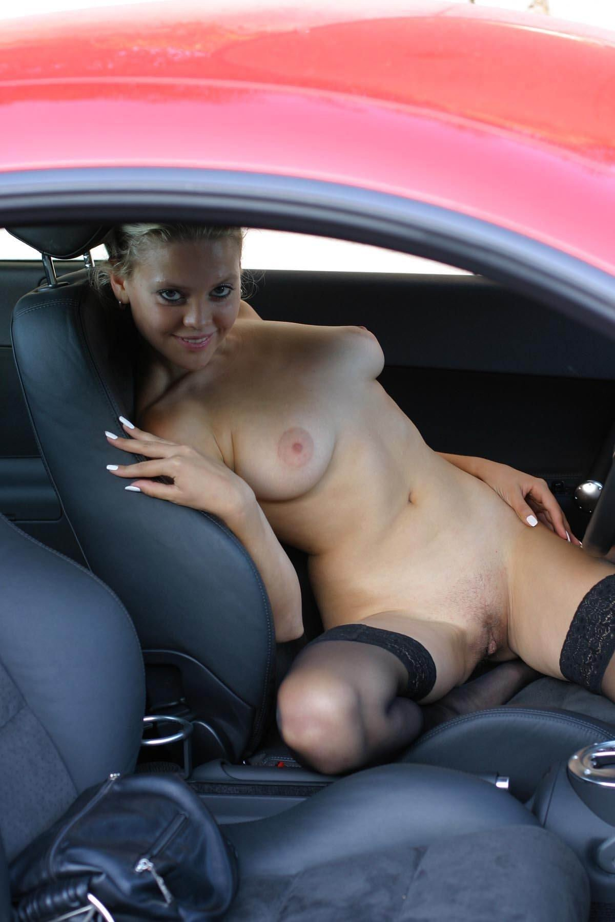 Me And A Str8 Boy In My New Car At The Park Stroking It