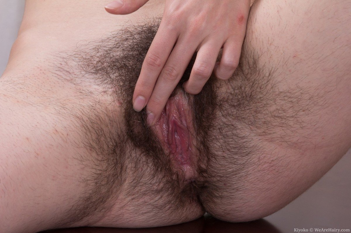 creampie hairy vagina there
