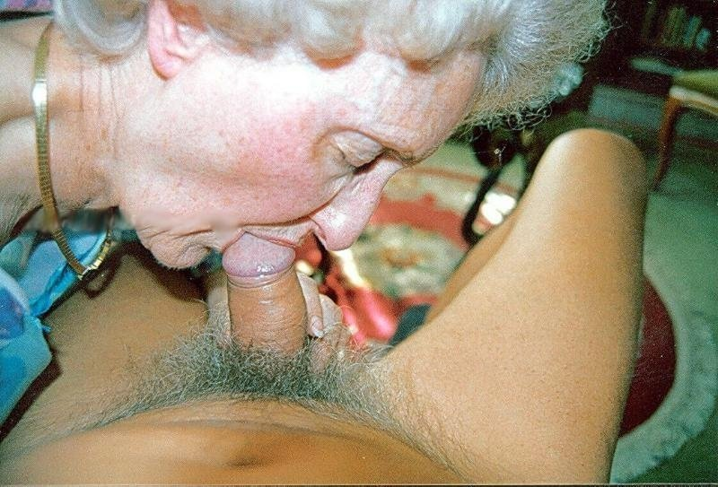 natural big boobs mature granny likes it black