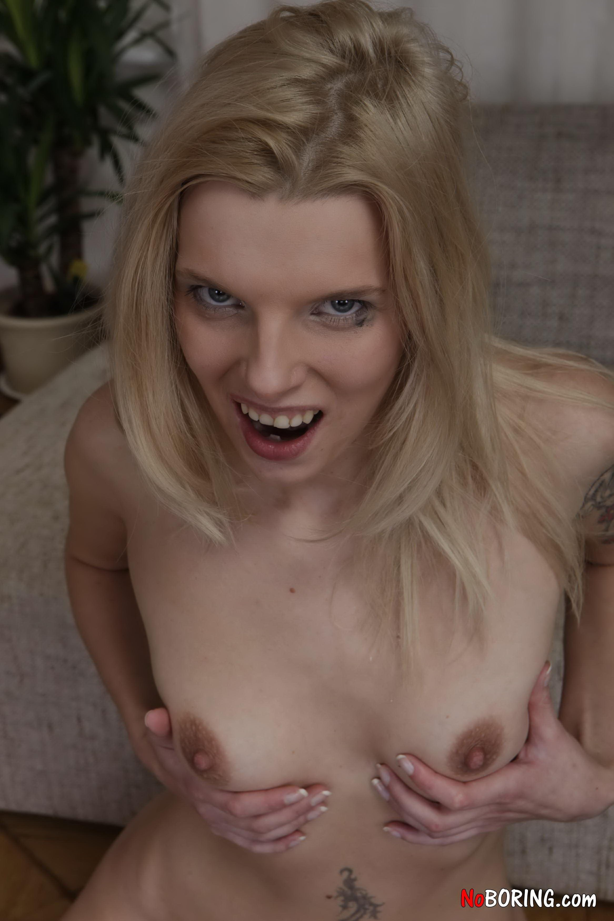 best of Sex-starved sweetie blows before doggy