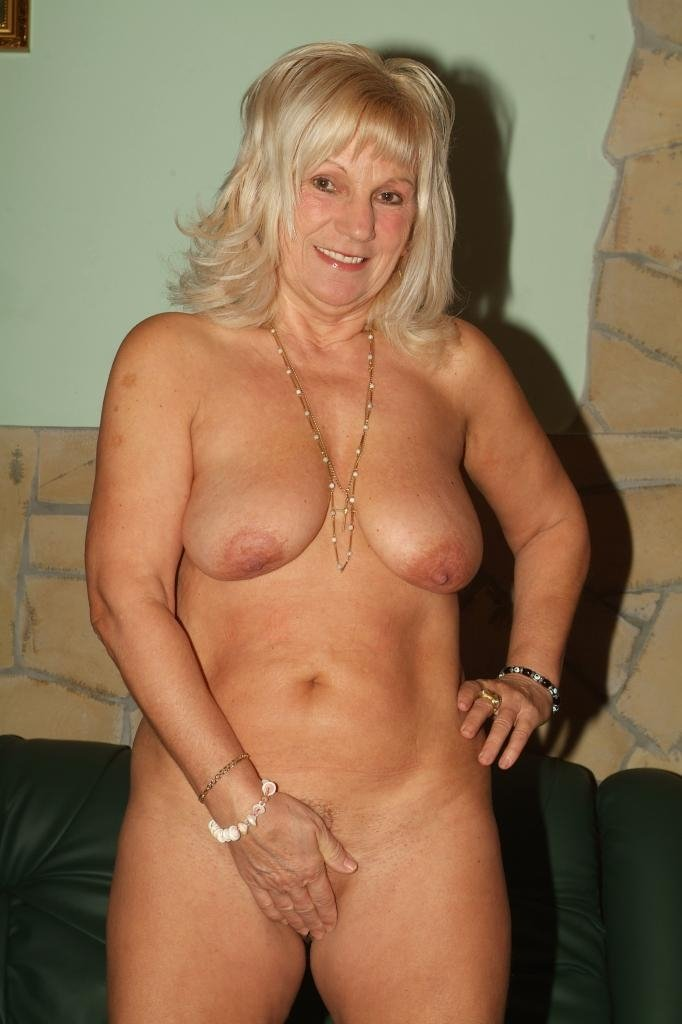 old granny stripper