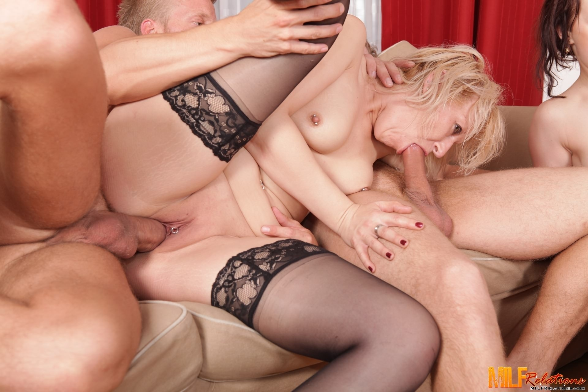 audrey hollander triple penetration