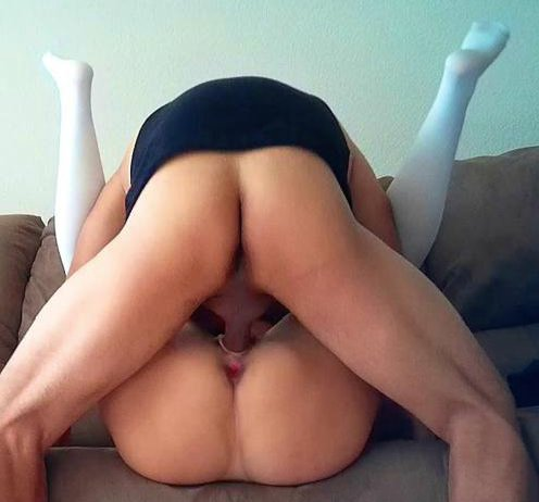 Girlfriend has cock