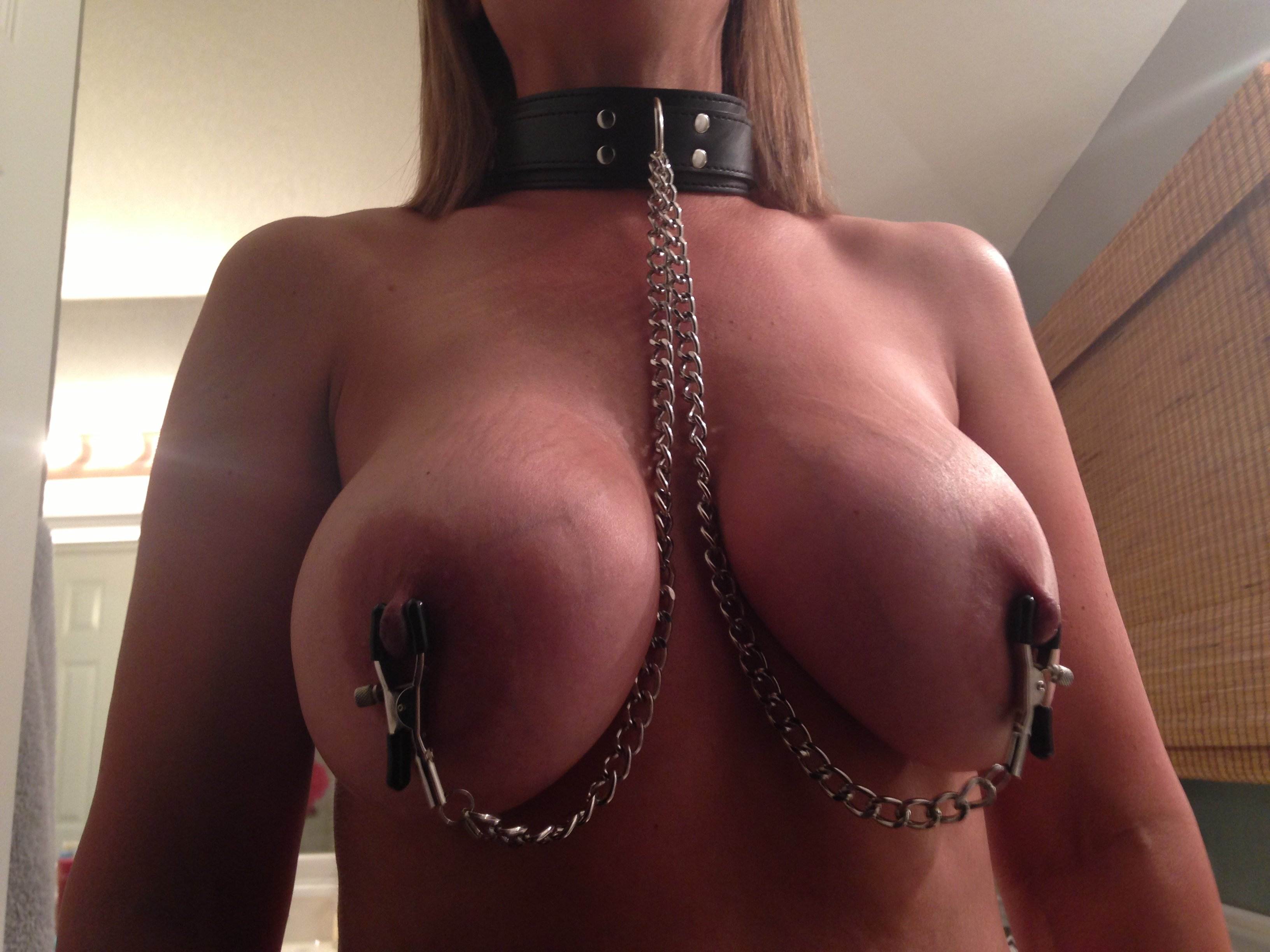 Nipple clamps in public