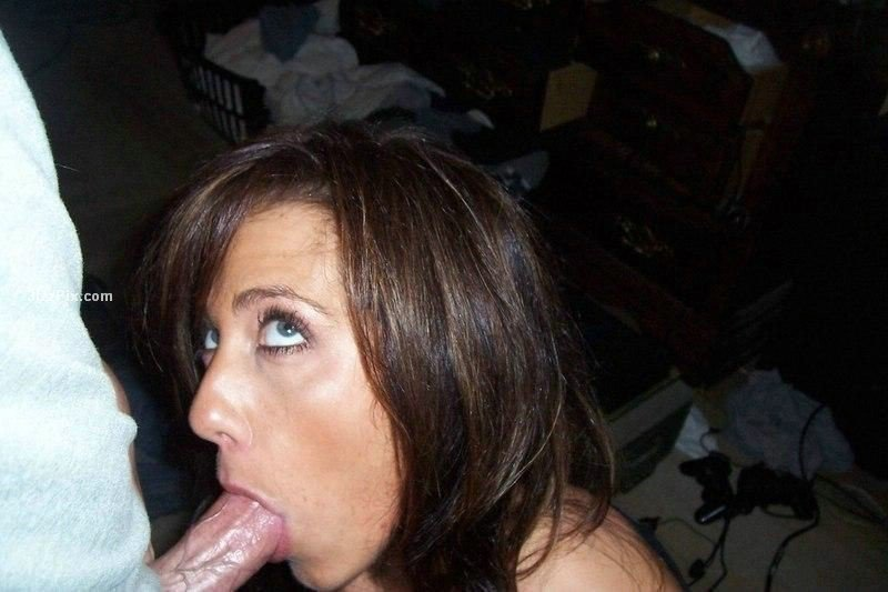 milf in maid outfit there