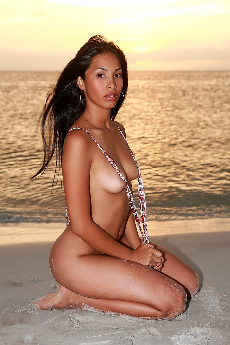 porn star nude beach add photo