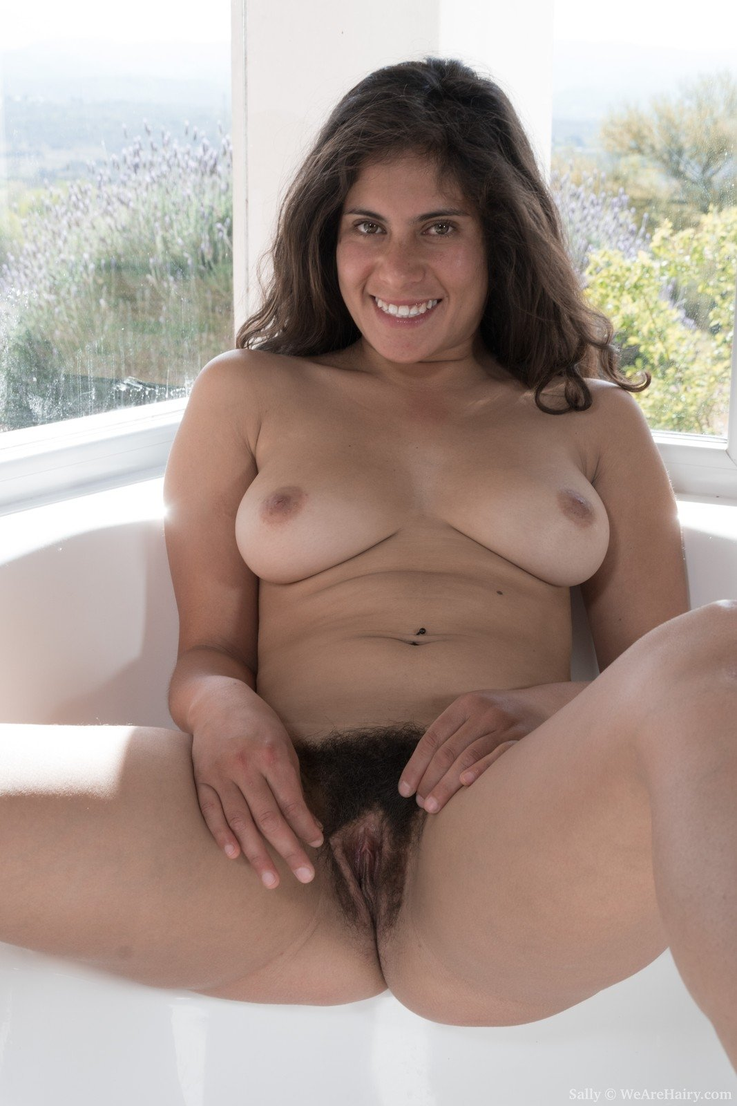 best of her hairy hole