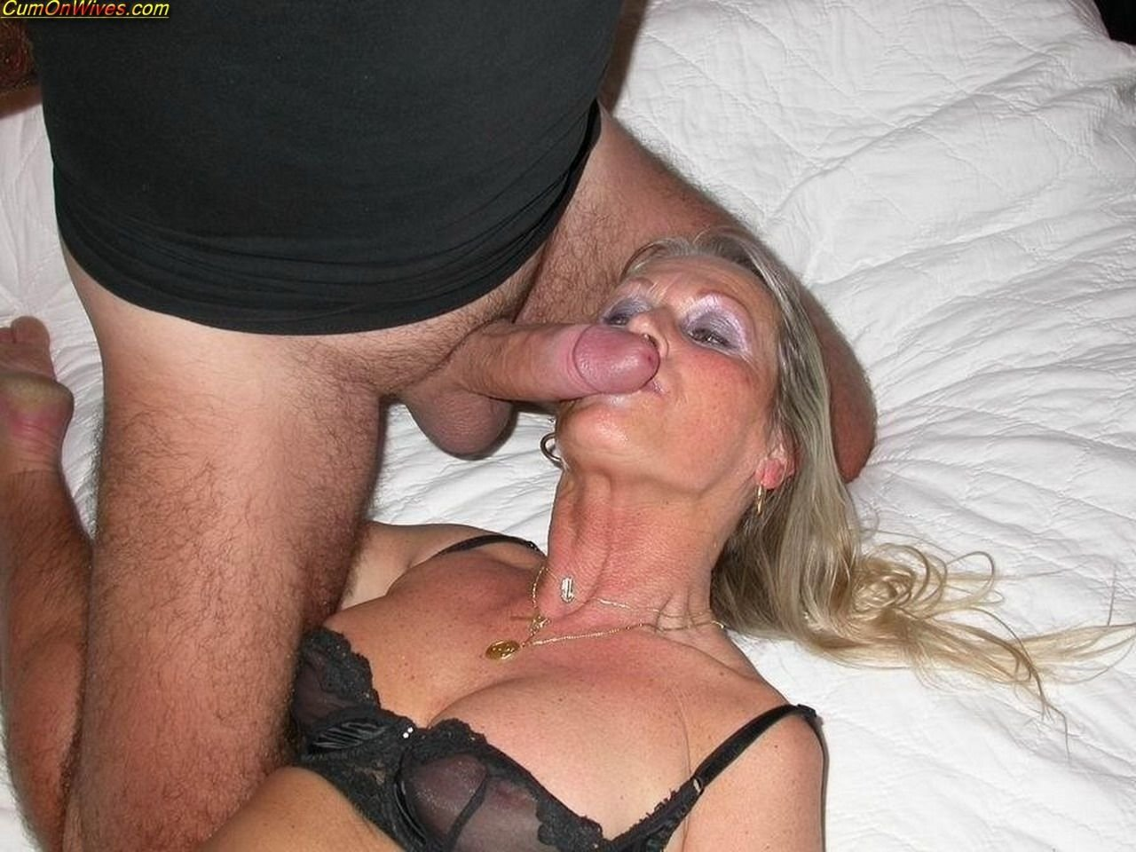 Blonde milf dirty talk #8