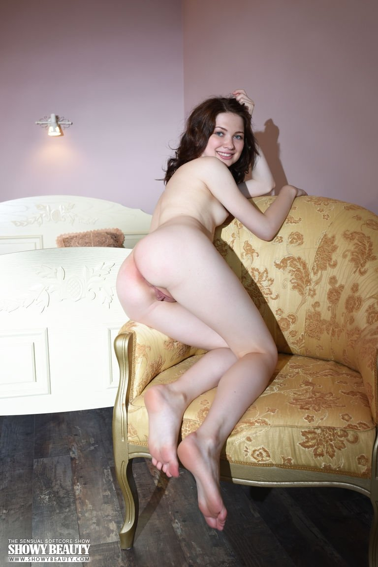 Mature wife in front