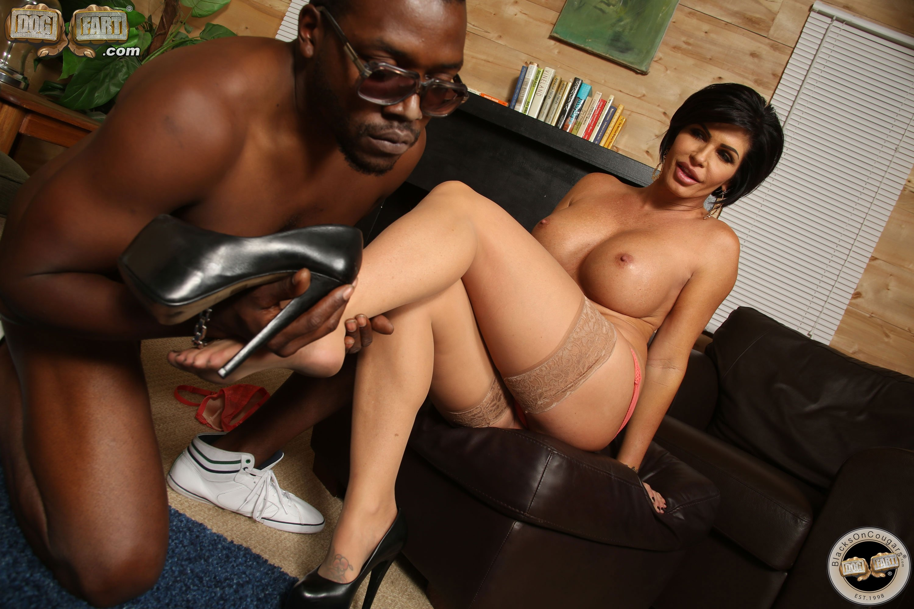 Asian creamy pies interracial