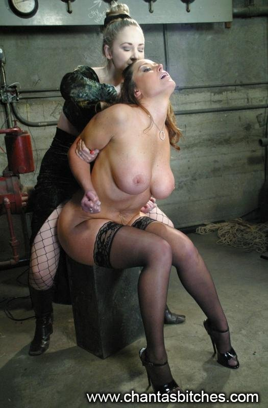 Not Bondage slaves in pantyhose fishnets