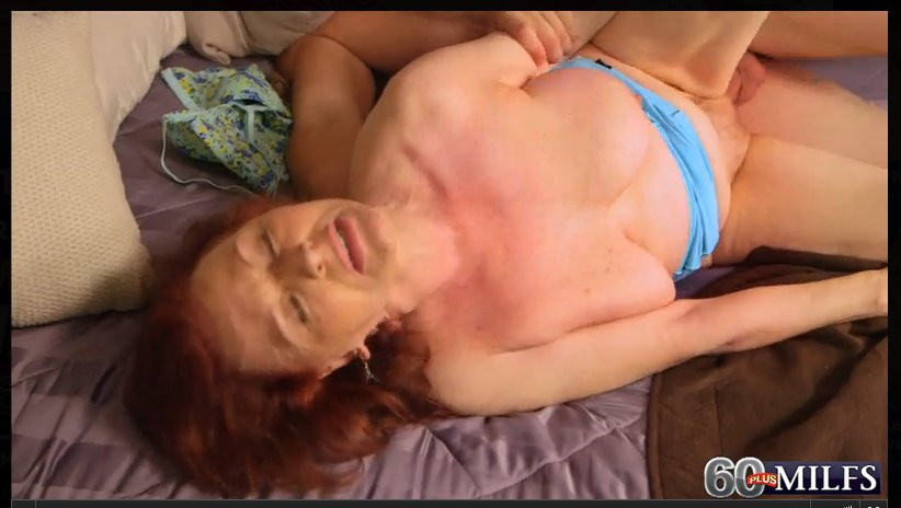 Granny having sex with young guy #14