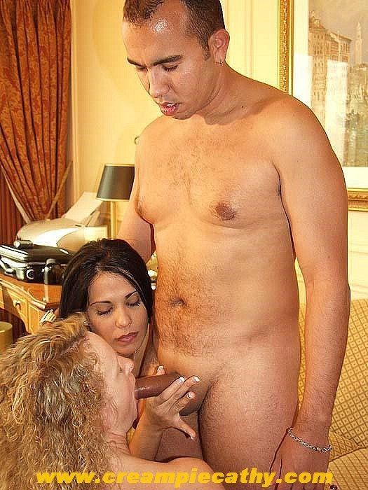 Cheating milf creampie #1
