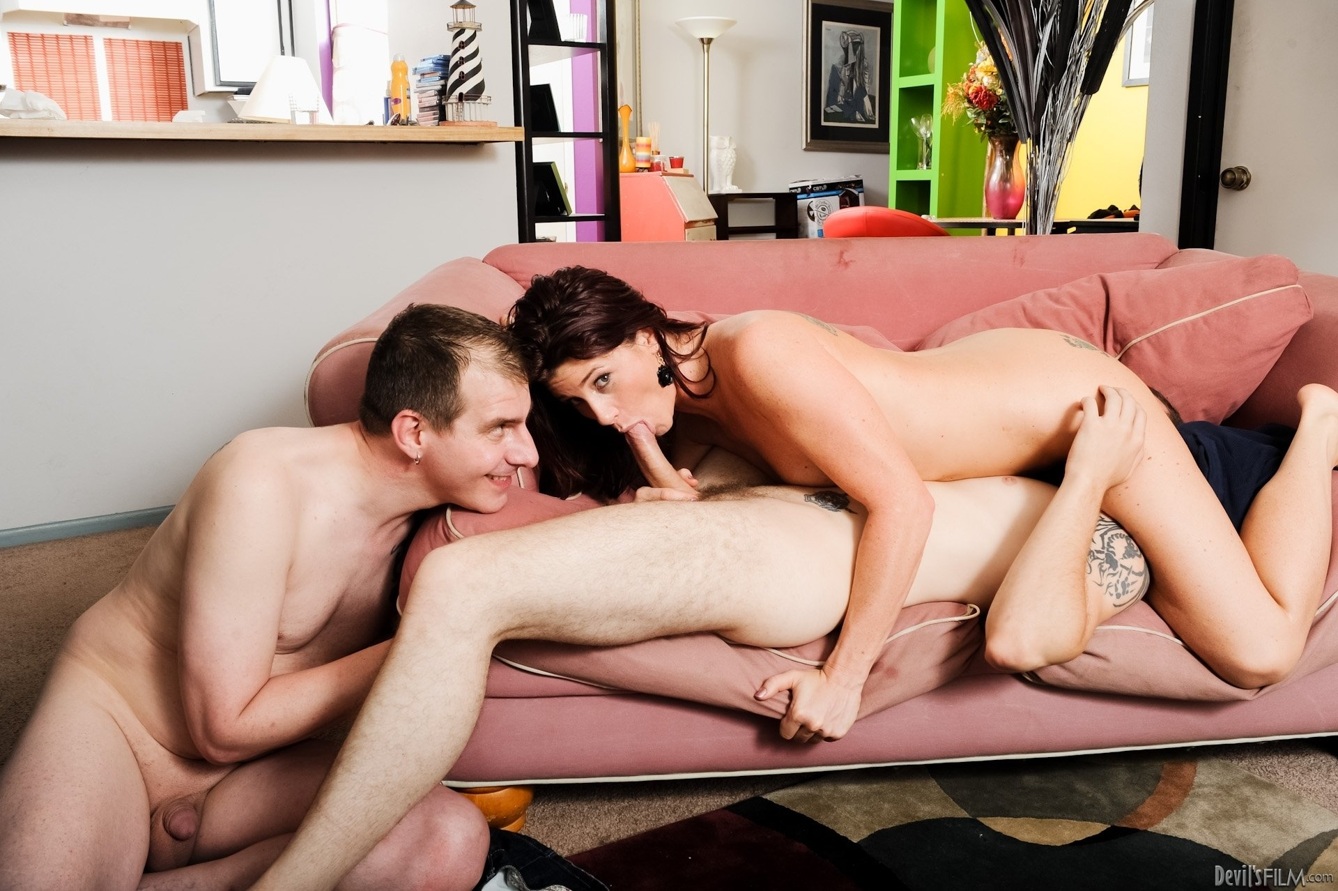 Amateur natalie from germany threesome anal