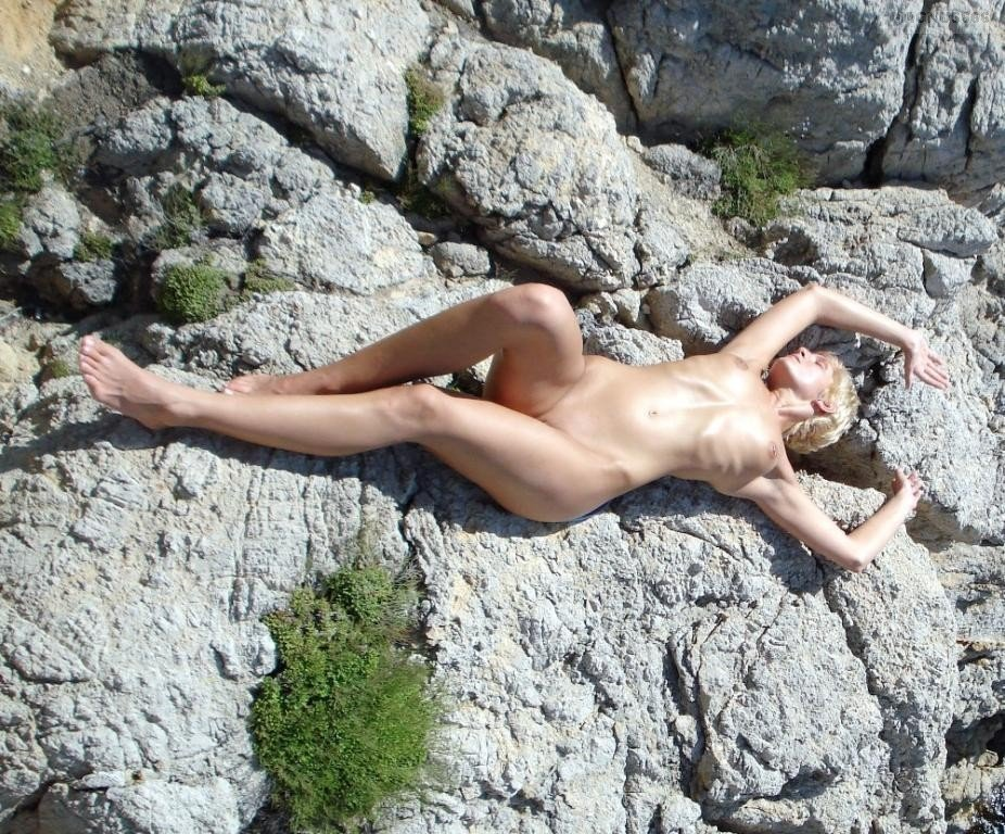 Mature wife at nude beach #8