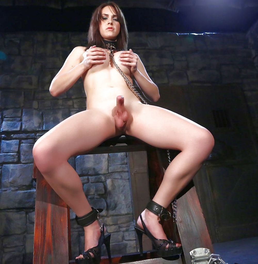 Malena in shemale dungeon