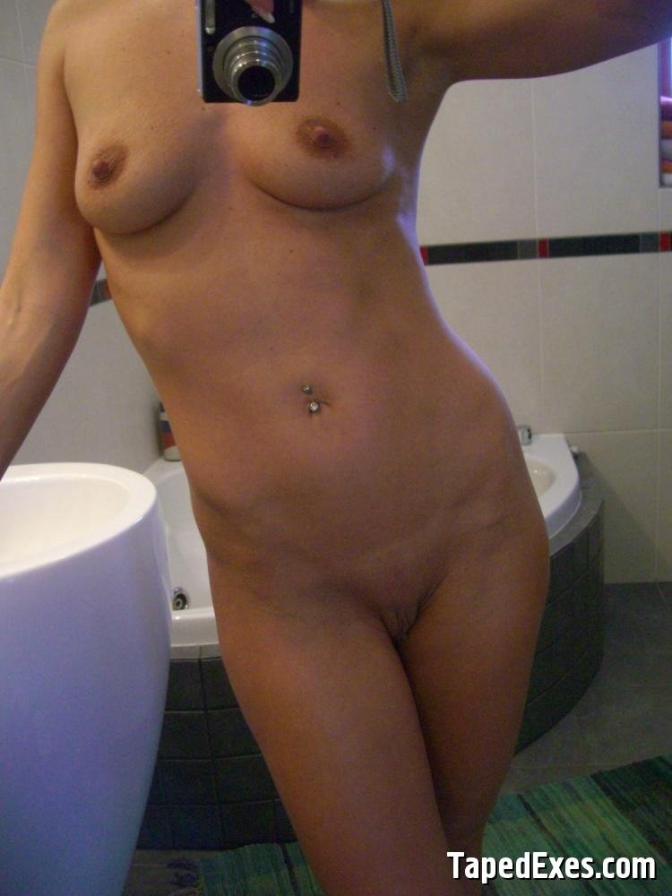 Young naked housewife