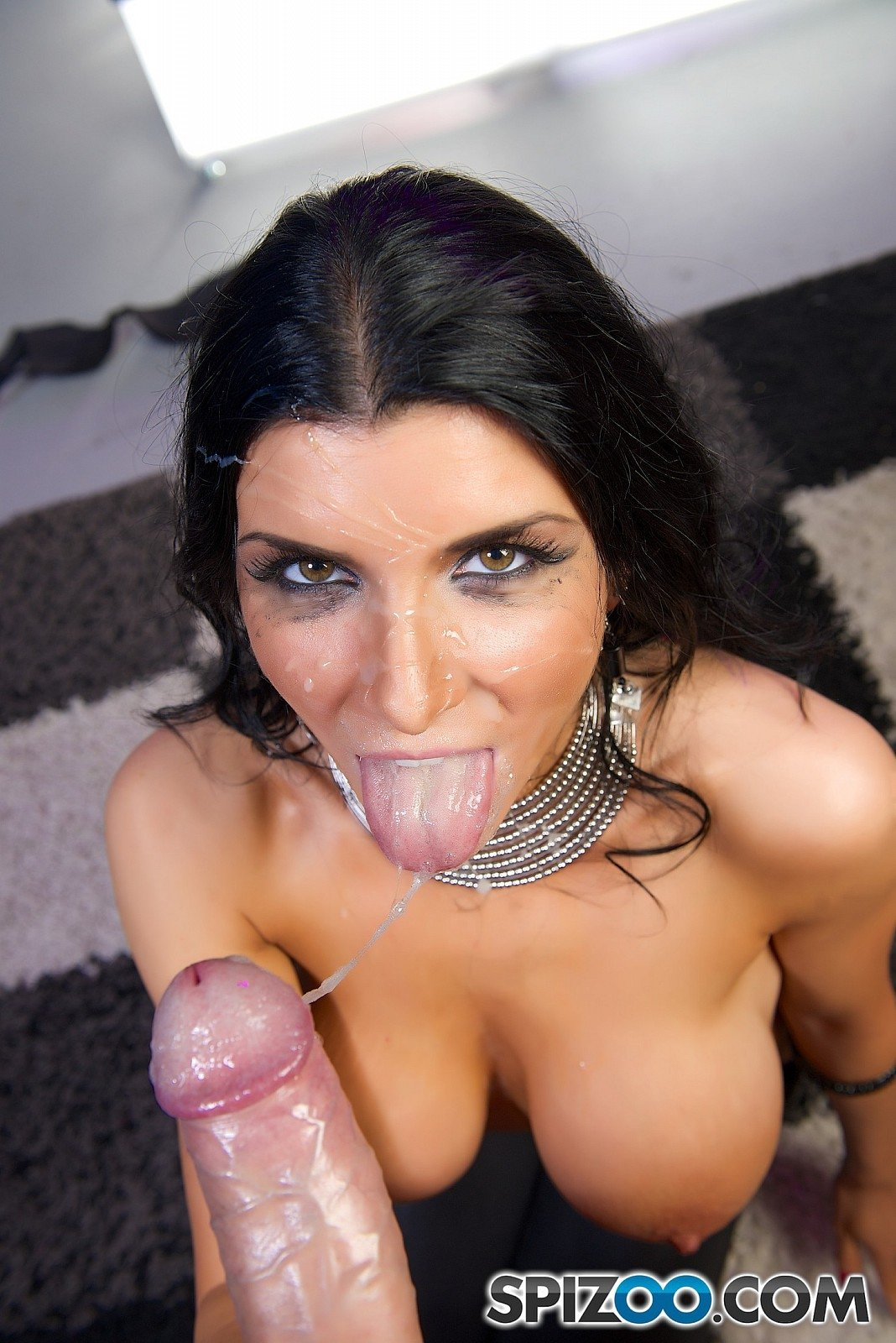Horny little angel likes it rough in various positions there