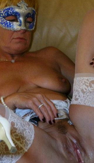 Mature stockings panties #1