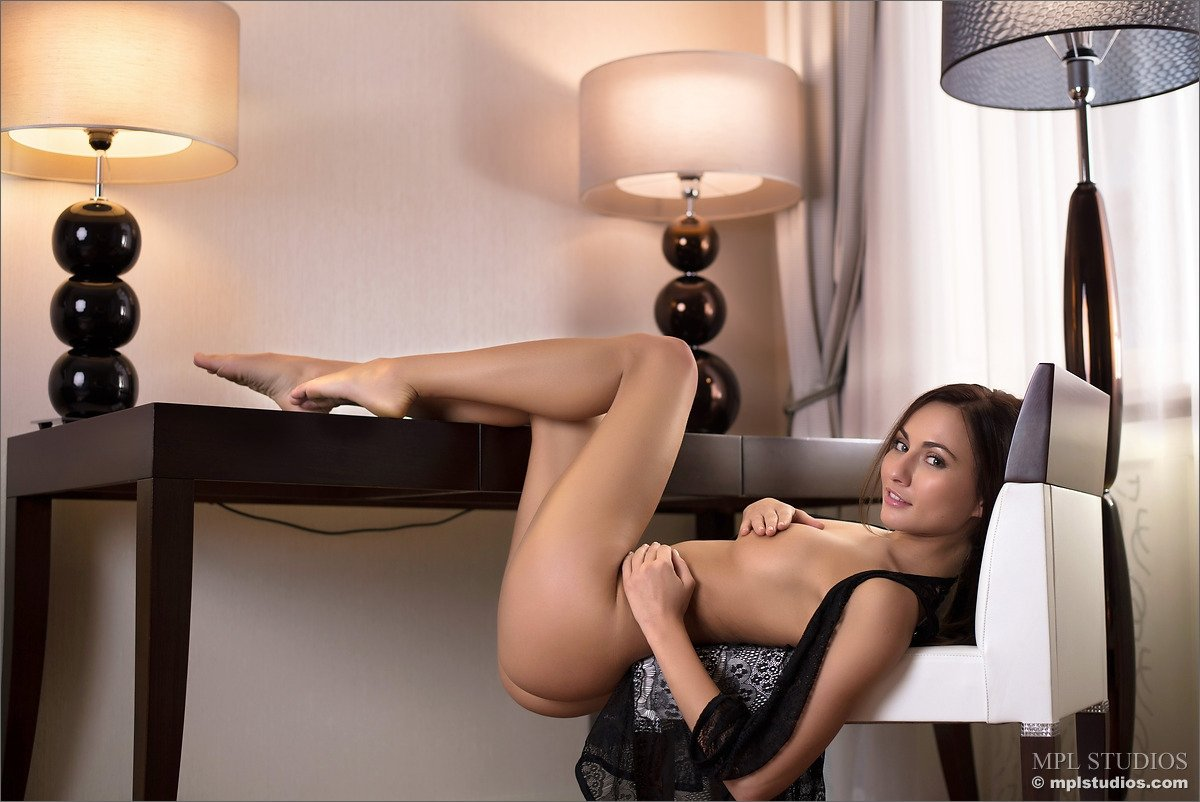 Lesbian housewives and maid massage