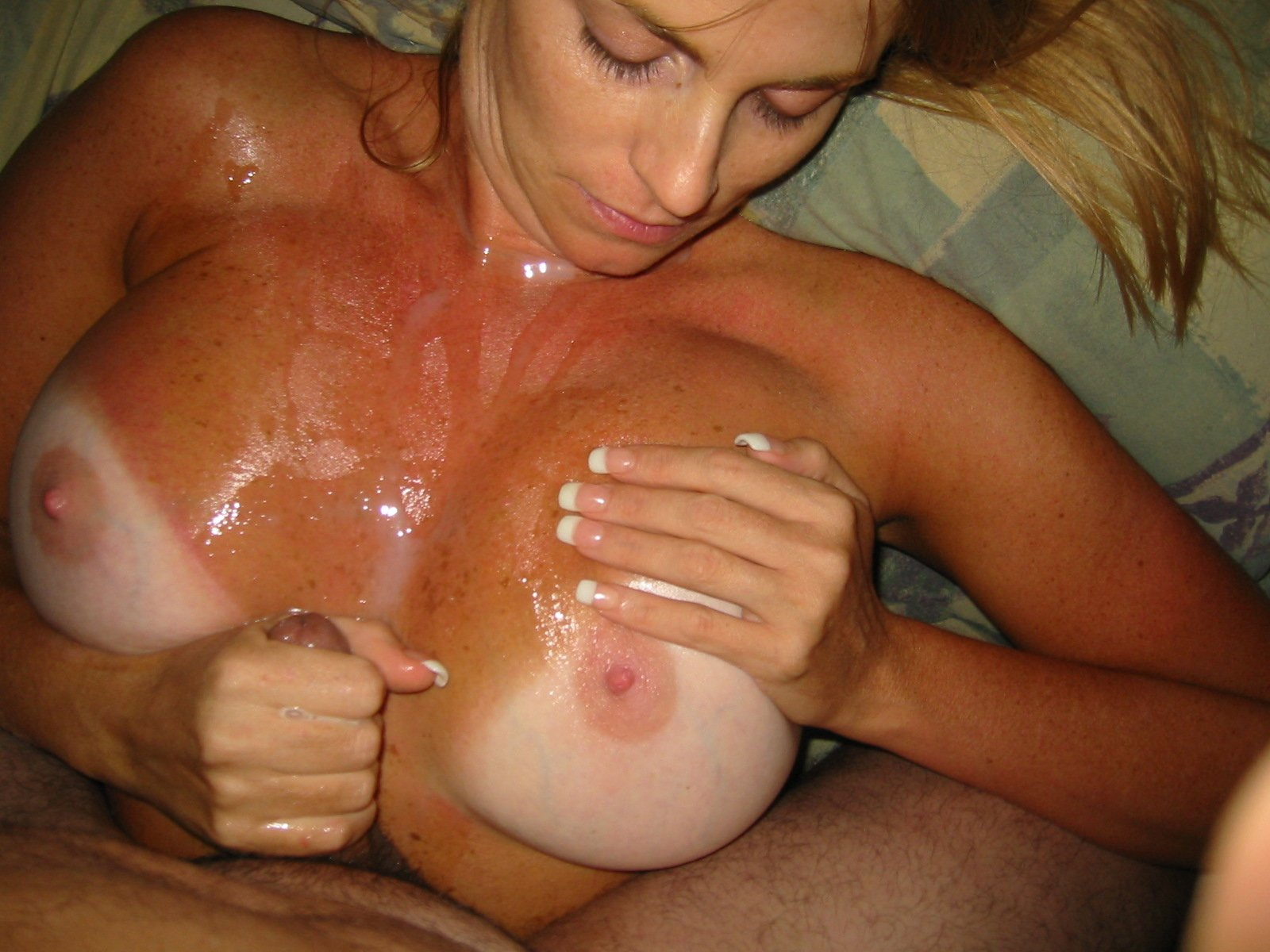 hot cum handjob