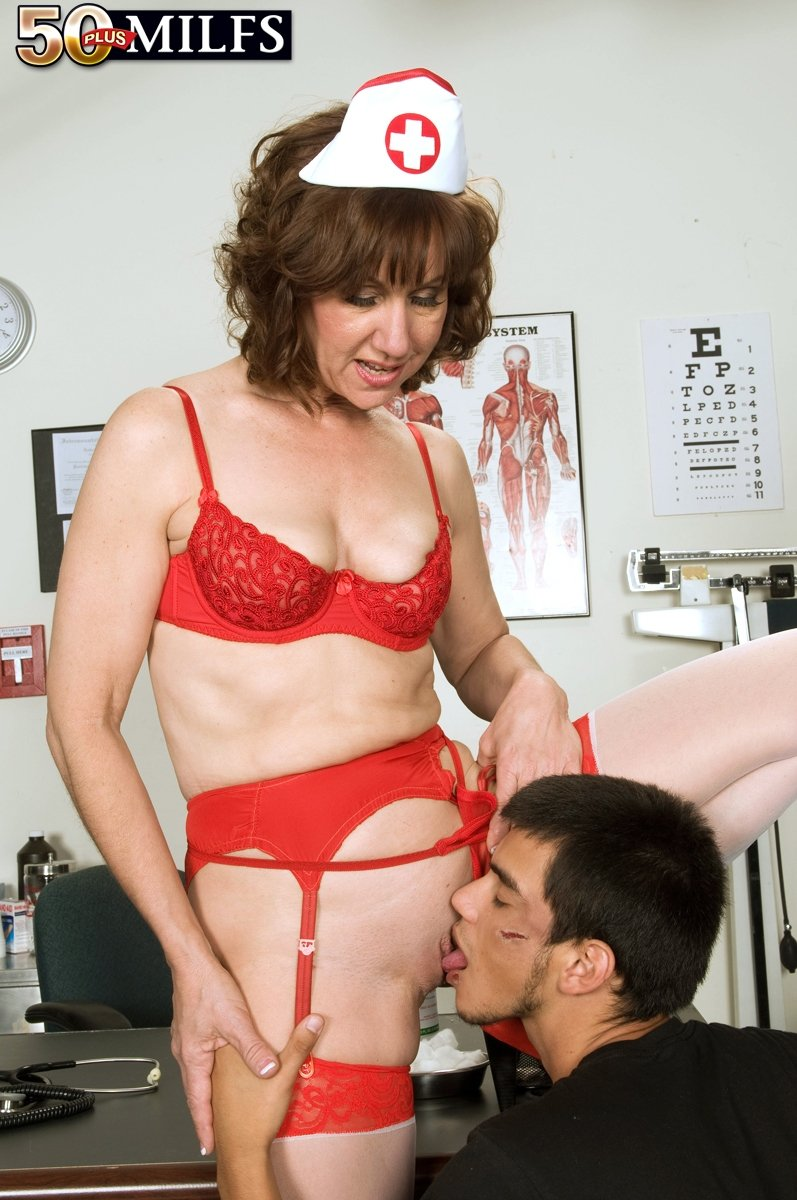 mature gets anal