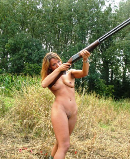 Sexy naked girls hunters