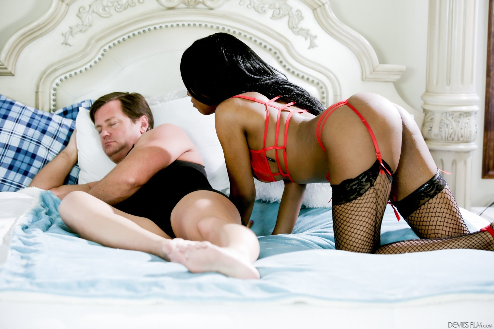 Salesman seduced and fucked housewife