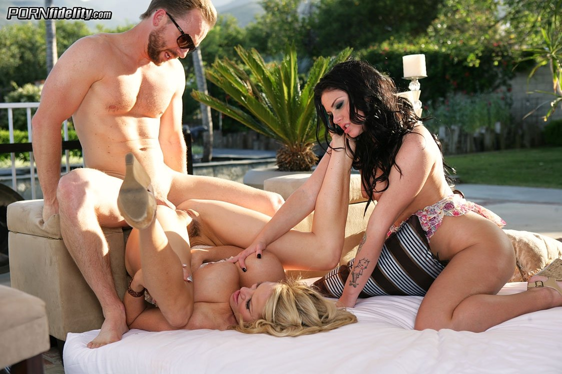 triple penetration porn pictures there