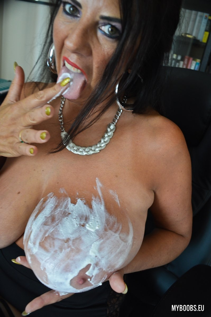 Mature women dressed and naked #9