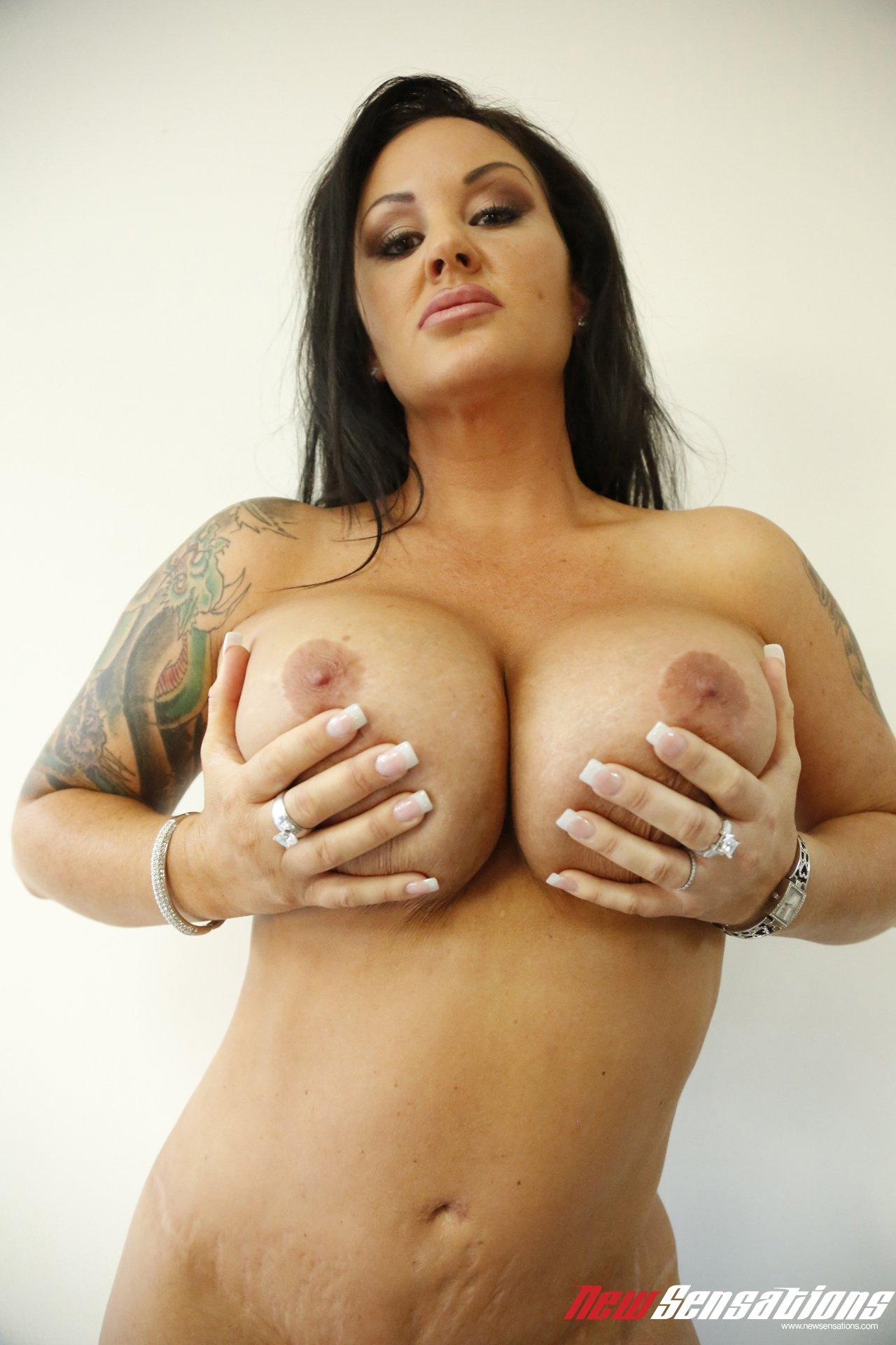 mature with tiny tits